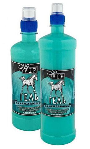 Zirgu gels atvēsinošs ar mentolu VEDA, 0.5 l